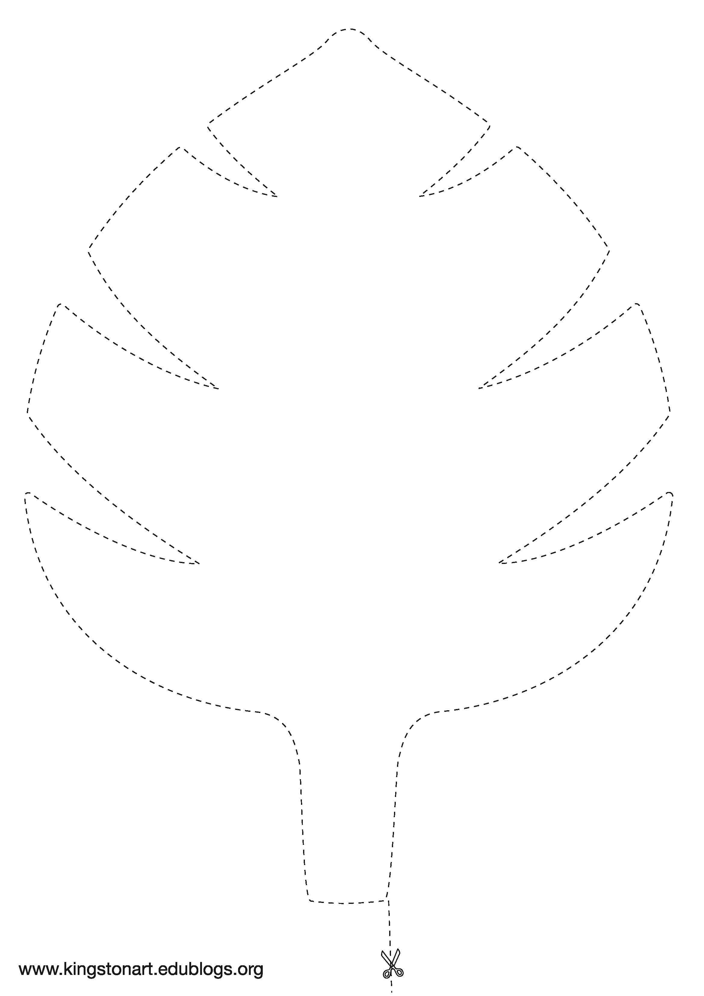 Jungle Leaf Templates to Cut Out Jungle Leaf Template Jungle theme Pinte