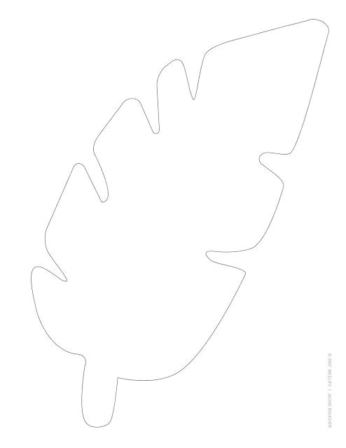 Jungle Leaf Templates to Cut Out Templates for Jungle Leaves Weelife Leafy Templates