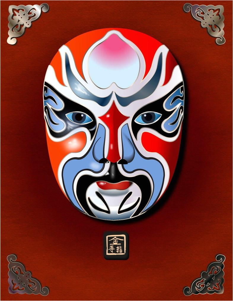 Kabuki Mask Template Kabuki Mask by Jmanggala On Deviantart