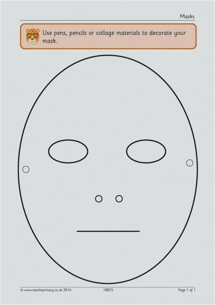 kabuki mask template