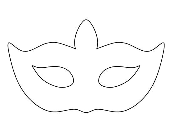 alien mask template