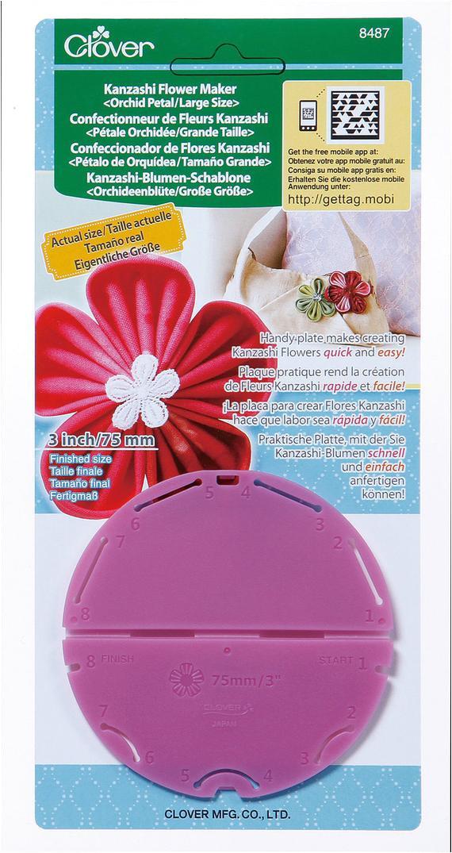 Kanzashi Flower Maker Template Clover orchid Petal Kanzashi Flower Maker by Scrappygirlshoppe