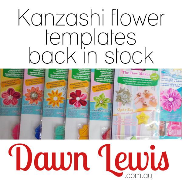 clover kanzashi