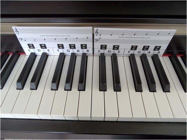 piano key overlay