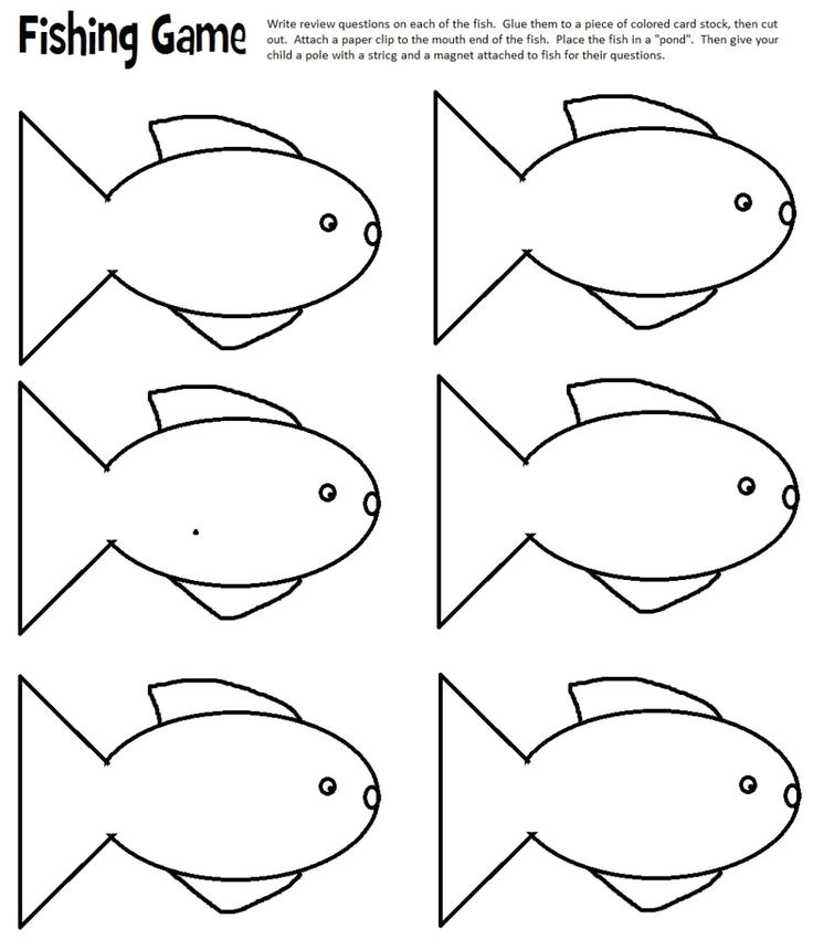 fish template