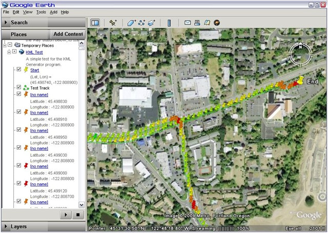 Kml Template How to Convert Your Gps Log Into Google Earth Compatible