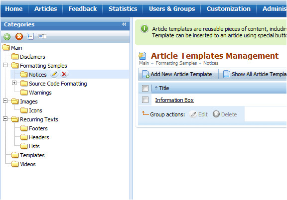 Knowledge Base Document Template Article Templates Snippets