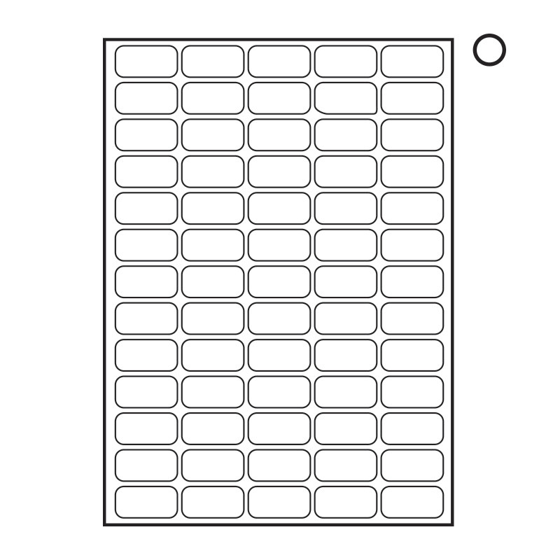 label templates 65 per sheet
