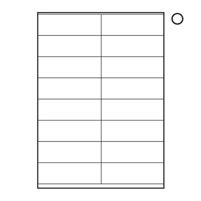 blank shipping label template