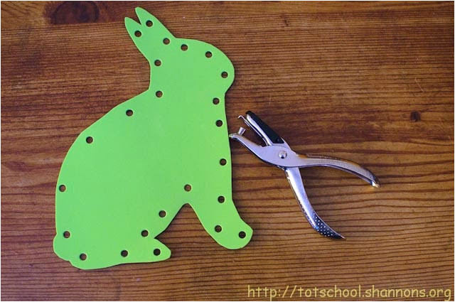 easy to make lacing cards