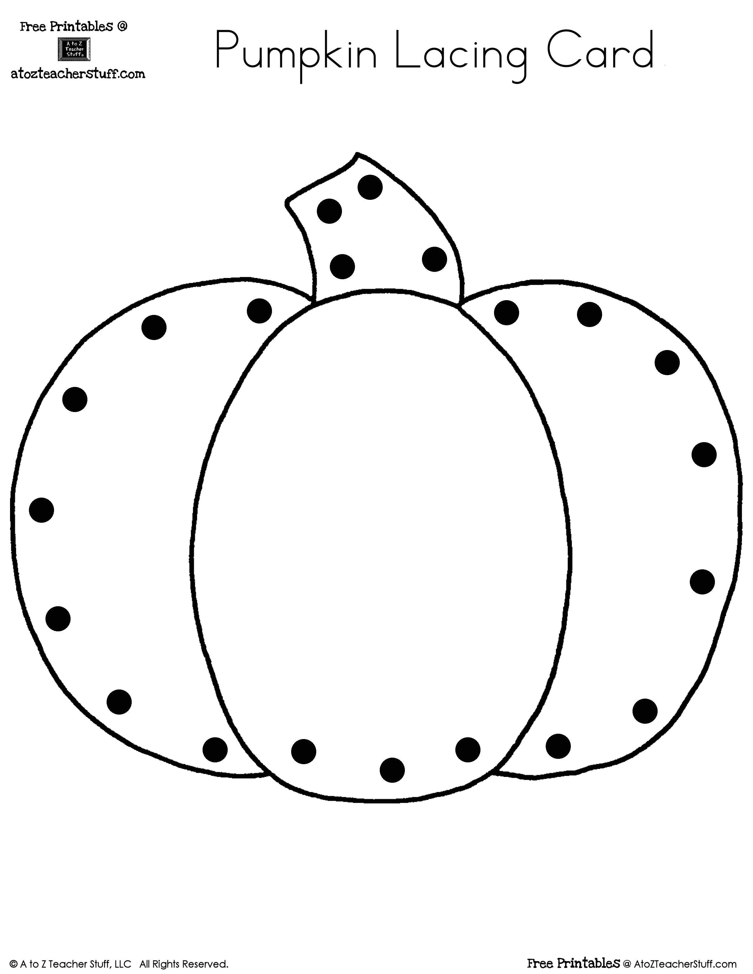 free printable pumpkin worksheets