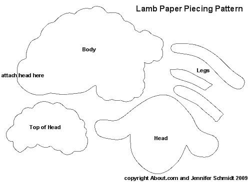 post sheep craft patterns 552313