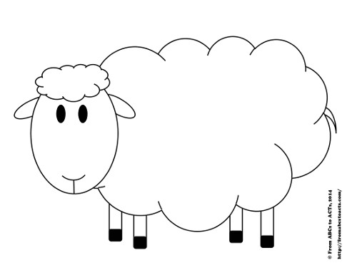 printable try counting sheep activity