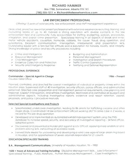 law enforcement operations plan template