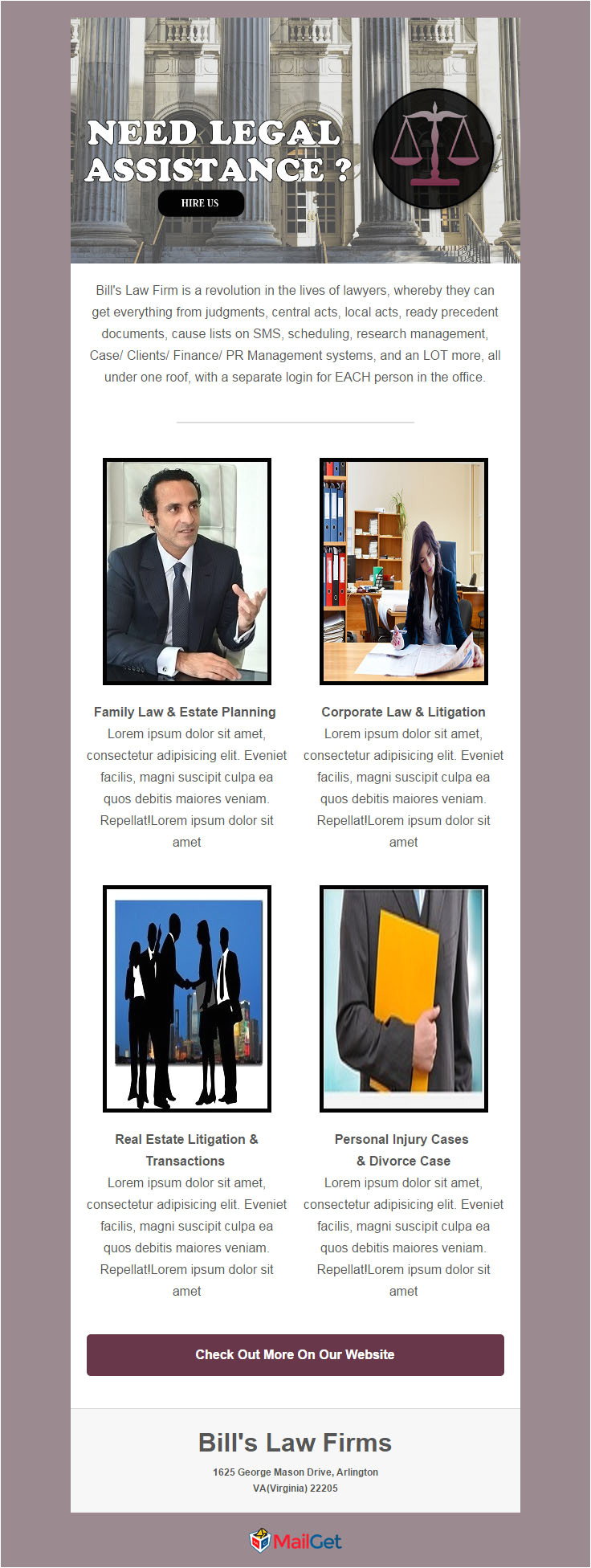 free email templates lawyers law firms