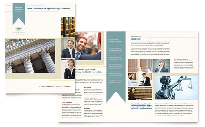 law firm brochure template design lg0060101