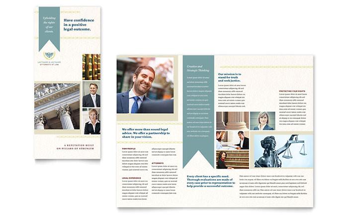 law firm tri fold brochure template design lg0062301