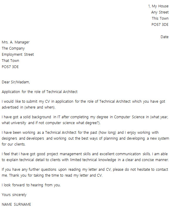 Layout Of A Covering Letter Cover Letter Layout Example Icover org Uk