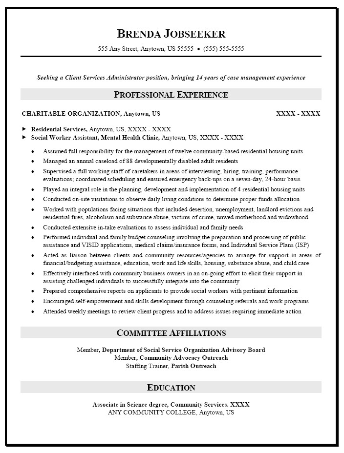 Lcsw Resume Sample social Work Resume Objective Statement