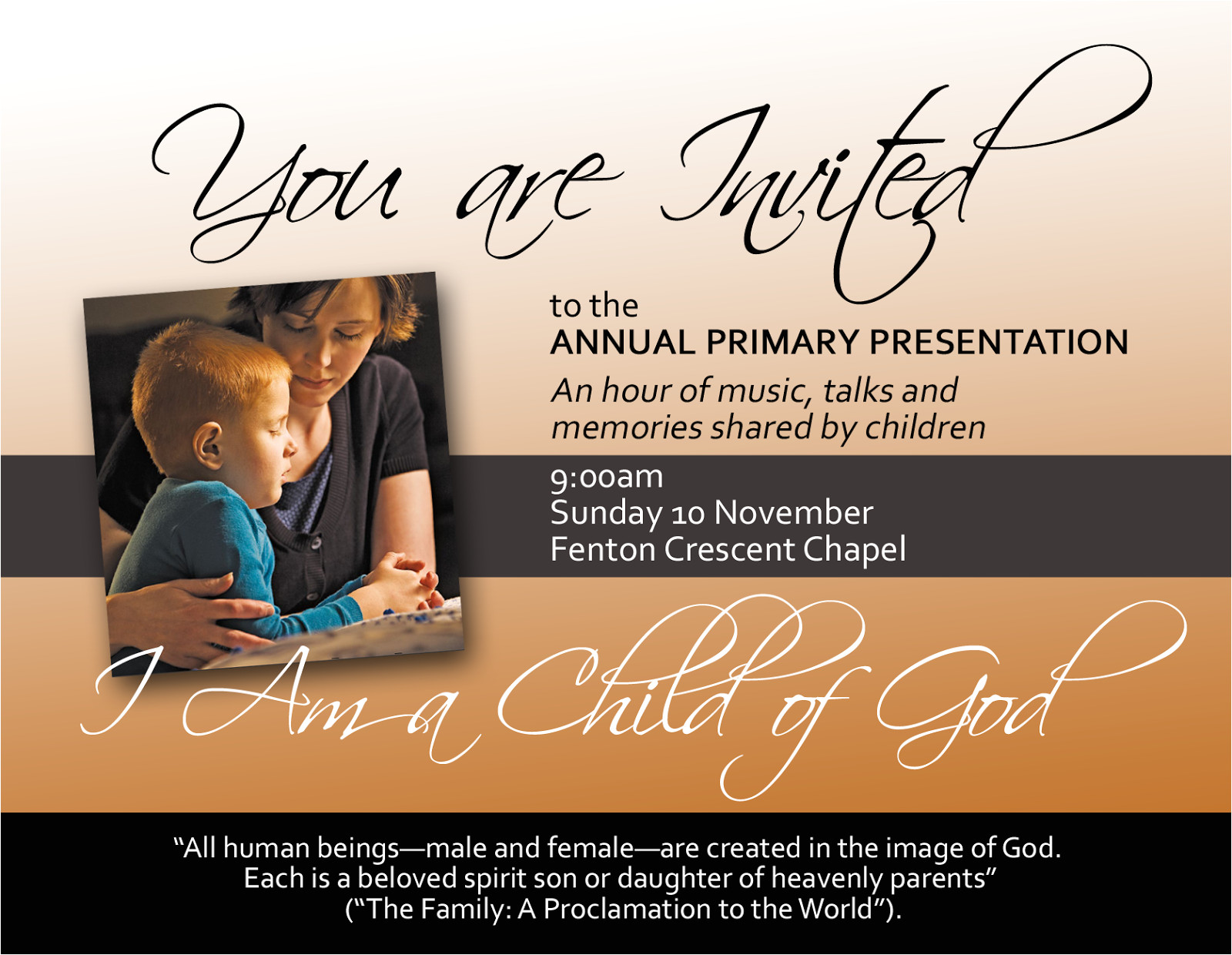 Lds Powerpoint Templates Lds Primary Presentations Party Invitations Ideas