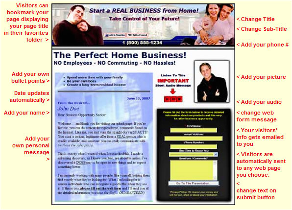 lead capture page weebly com