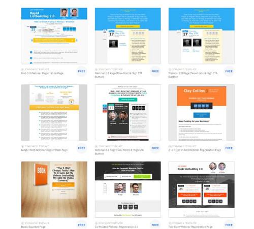 landing page builders reviews rankings