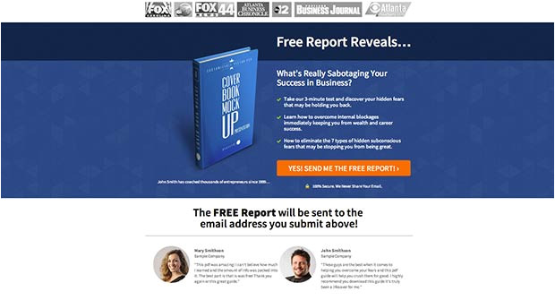 the ultimate list of free landing page templates