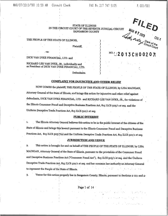 collectionldwn legal complaint template
