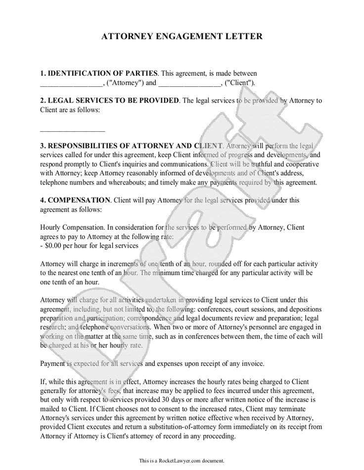Legal Engagement Letter Template 33 Best Images About Legal On Pinterest Business