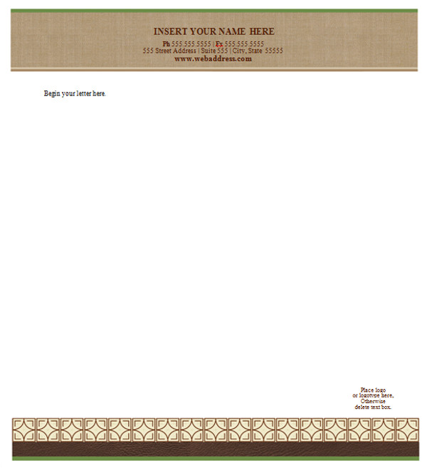 Legal Stationery Templates 42 Company Letterhead Templates Sample Templates