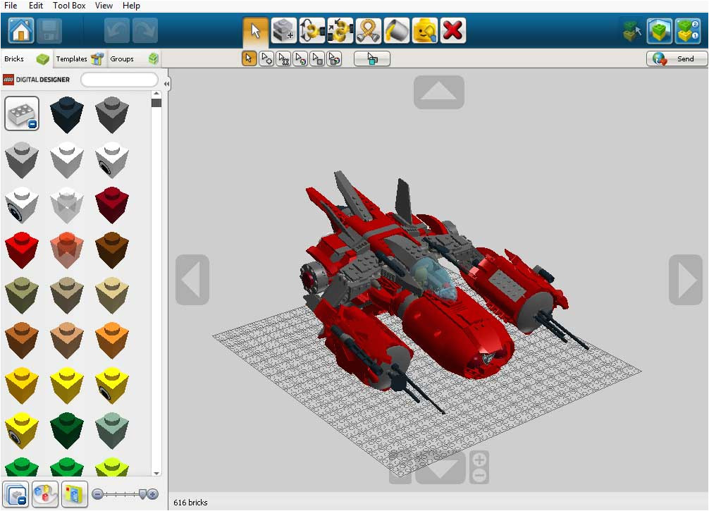 Lego Digital Designer Templates Lego Digital Designer 4 3 10 Download Freeware