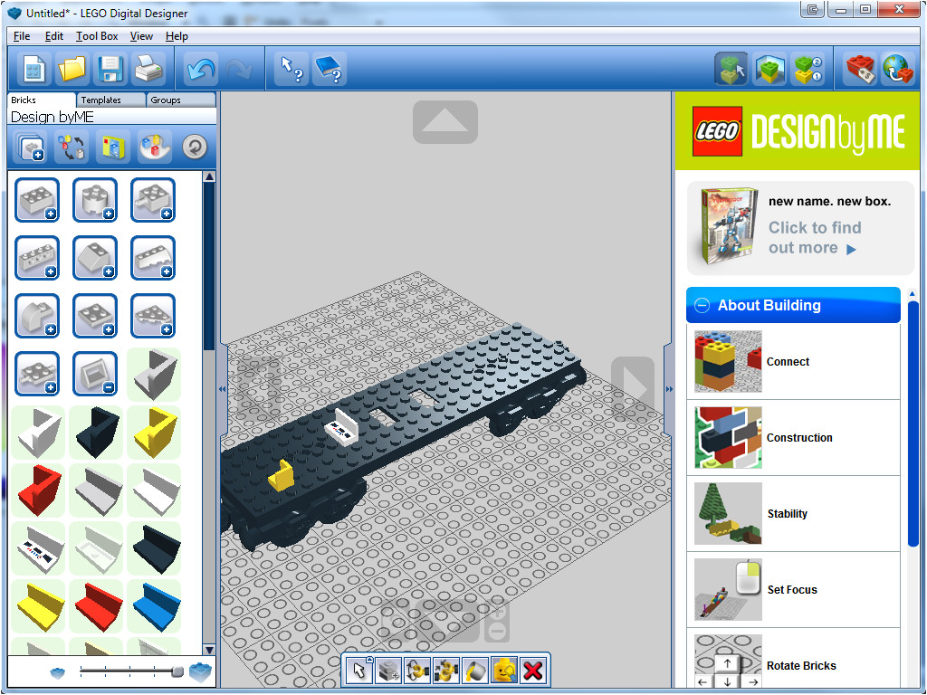 Lego Digital Designer Templates Lego Digital Designer 4 3 11 Free Download Downloads