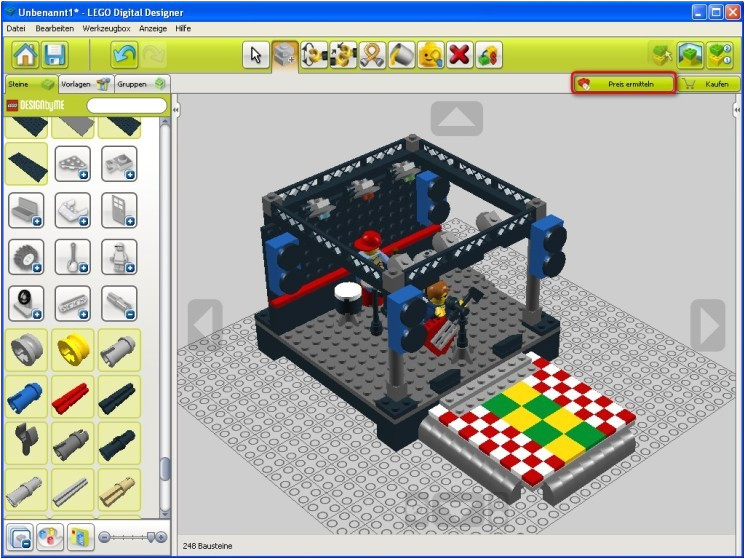 lego digital designer templates