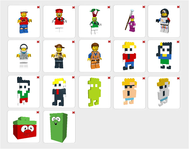my lego digital designer char templates 476506056