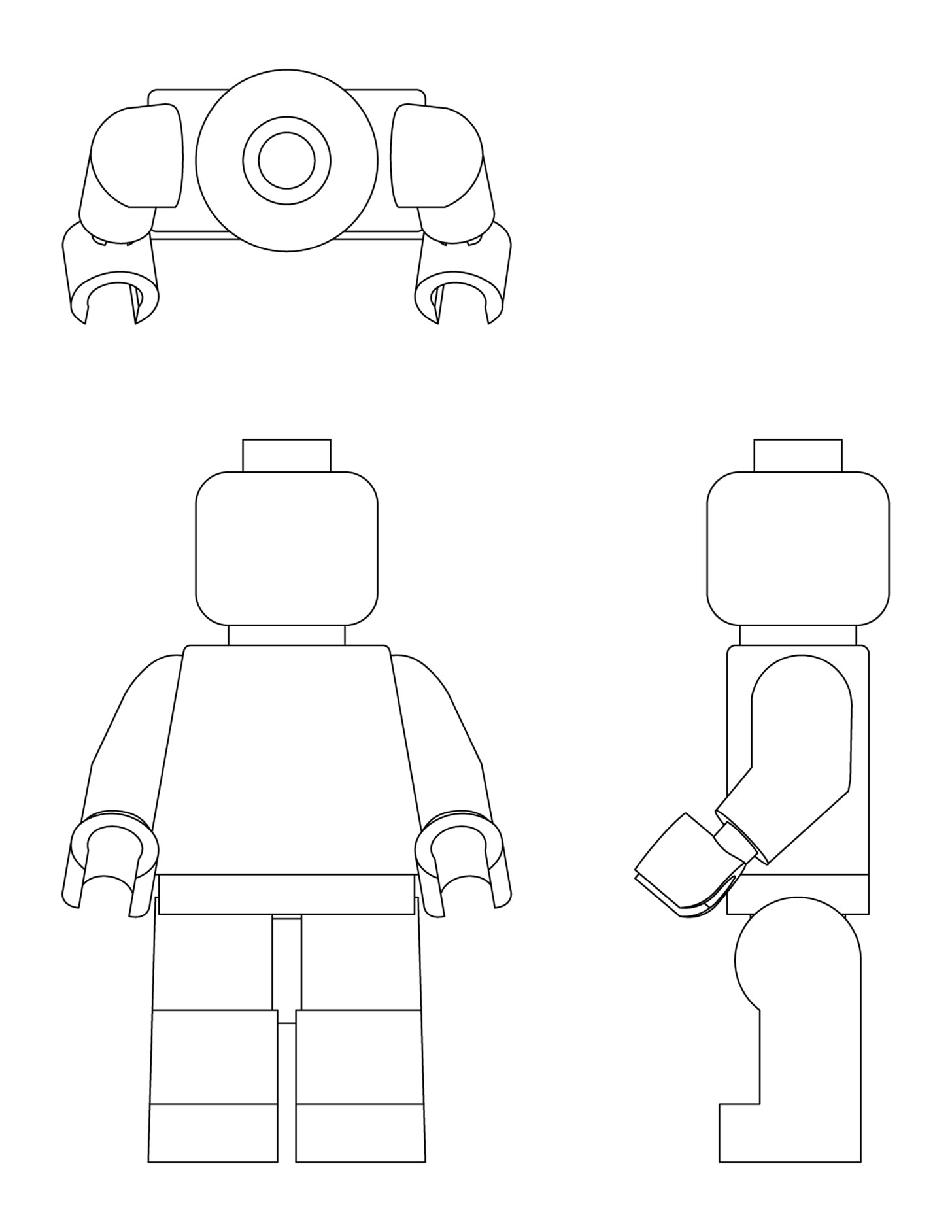 Lego Figure Template Excellent Warhammer 40k Templates Pictures Inspiration