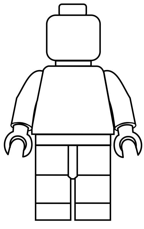 lego template