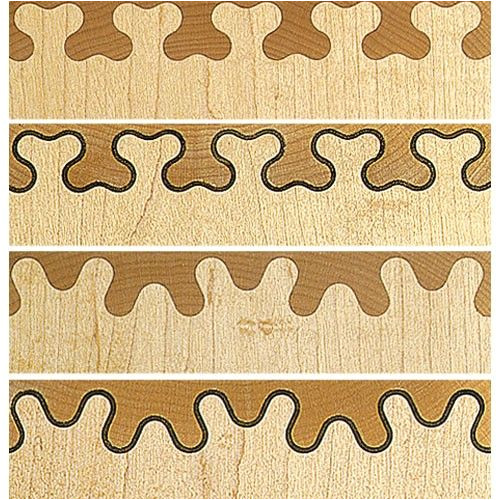 Leigh isoloc Hybrid Dovetail Templates Leigh isoloc B Joint Templates for D4rm Dovetail Jig