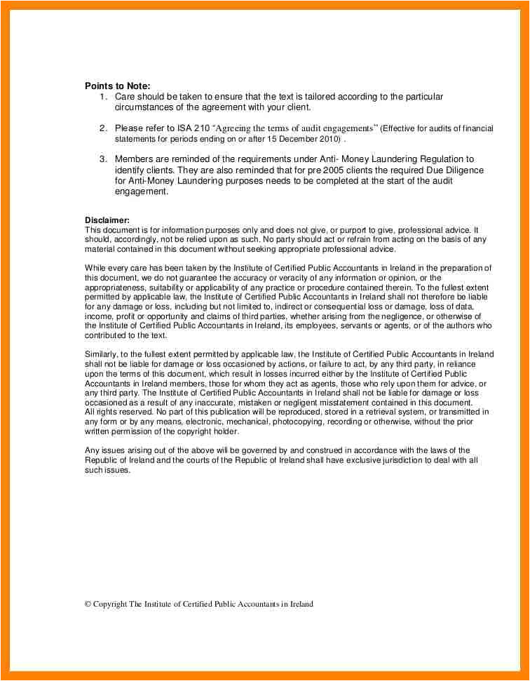 sample consulting engagement letter