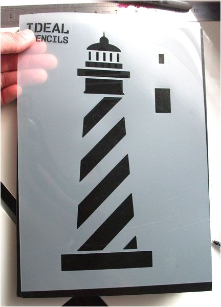 Lighthouse Template Craft 1000 Images About Nautical Stencils On Pinterest