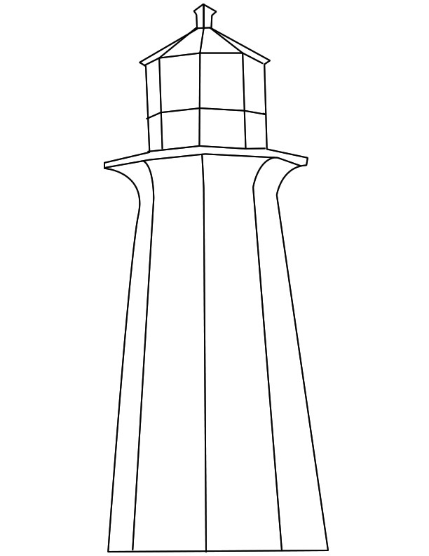 Lighthouse Template Craft Lighthouse Patterns to Print the Lighthouse Keeper 39 S