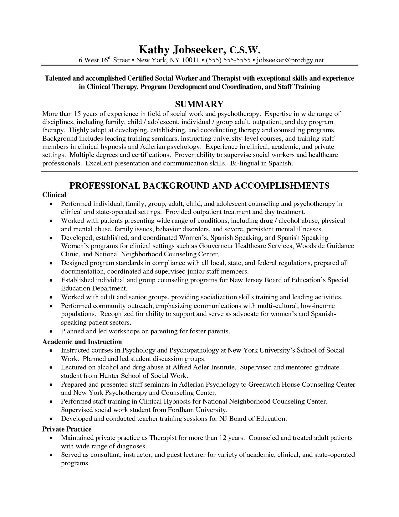lmsw resume sample inspirational work resume examples social with license resumes template business