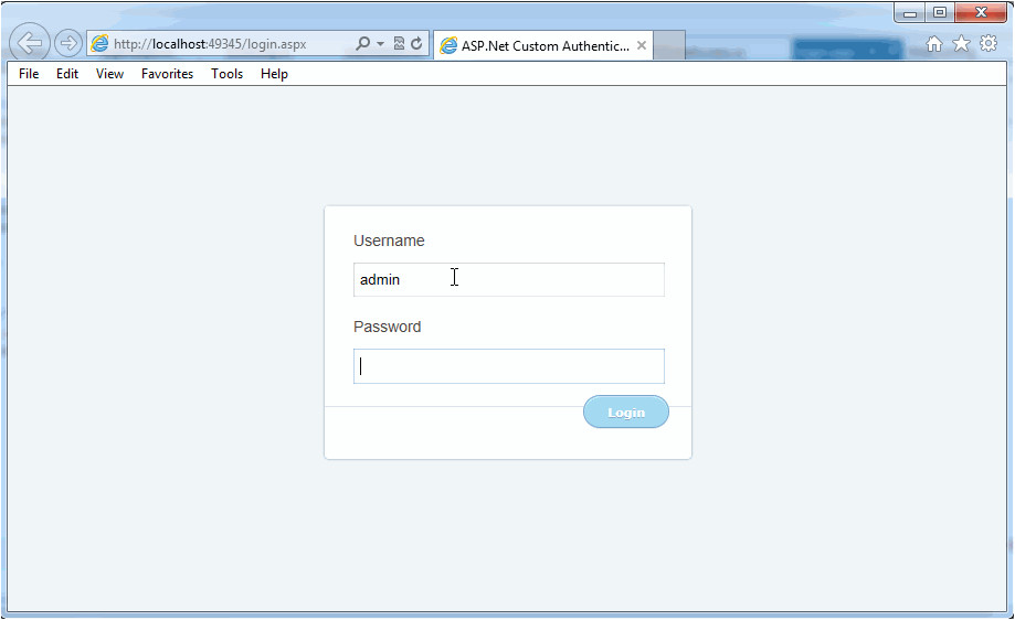 Login Page Templates Free Download In asp Net form Authentication In asp Net 3 5 Example C