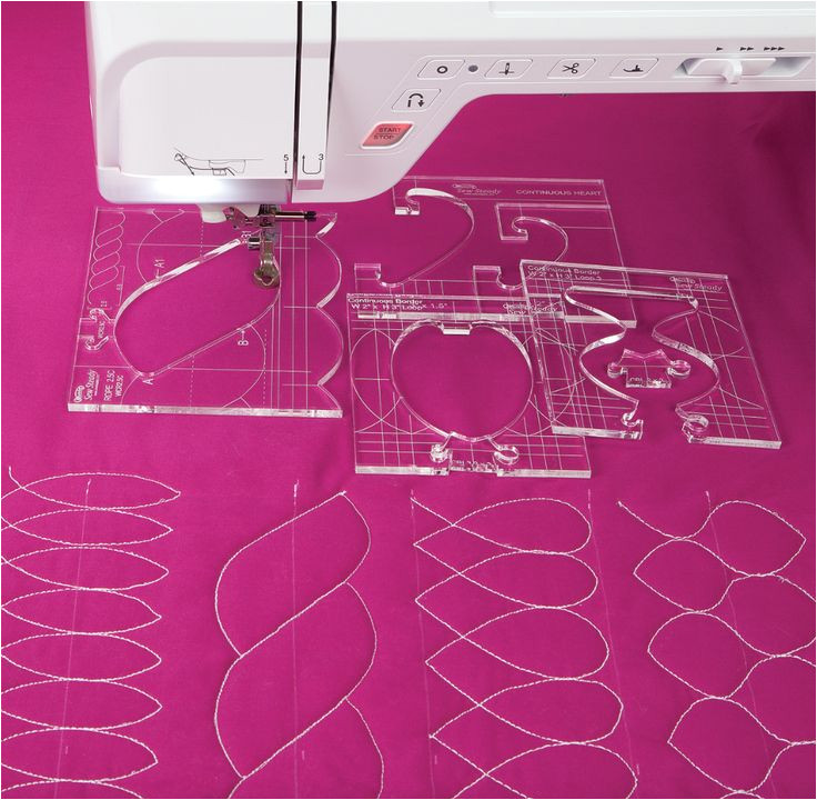 Long Arm Quilting Templates Rulers 17 Best Ideas About Quilting Rulers On Pinterest