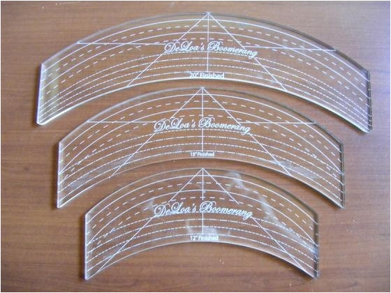 acrylic templates for longarm quilting
