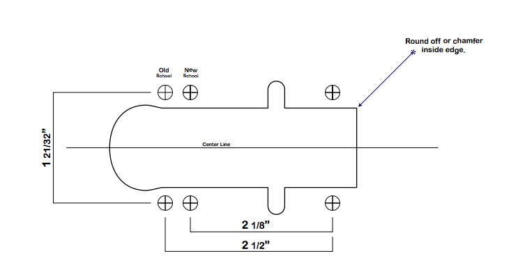 Longboard Truck Template Drop Through Longboard Template Www Pixshark Com