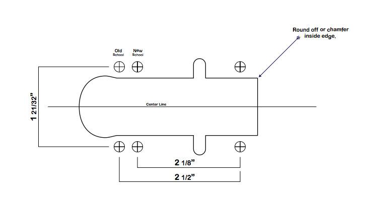 Longboard Truck Template Drop Through Longboard Template Www Pixshark Com