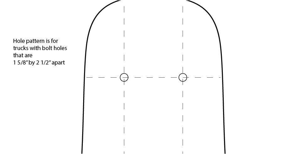 longboard template