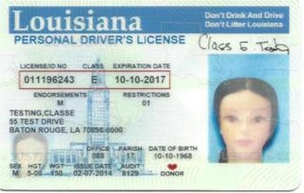 louisiana id template every state but mine id ada wright potter