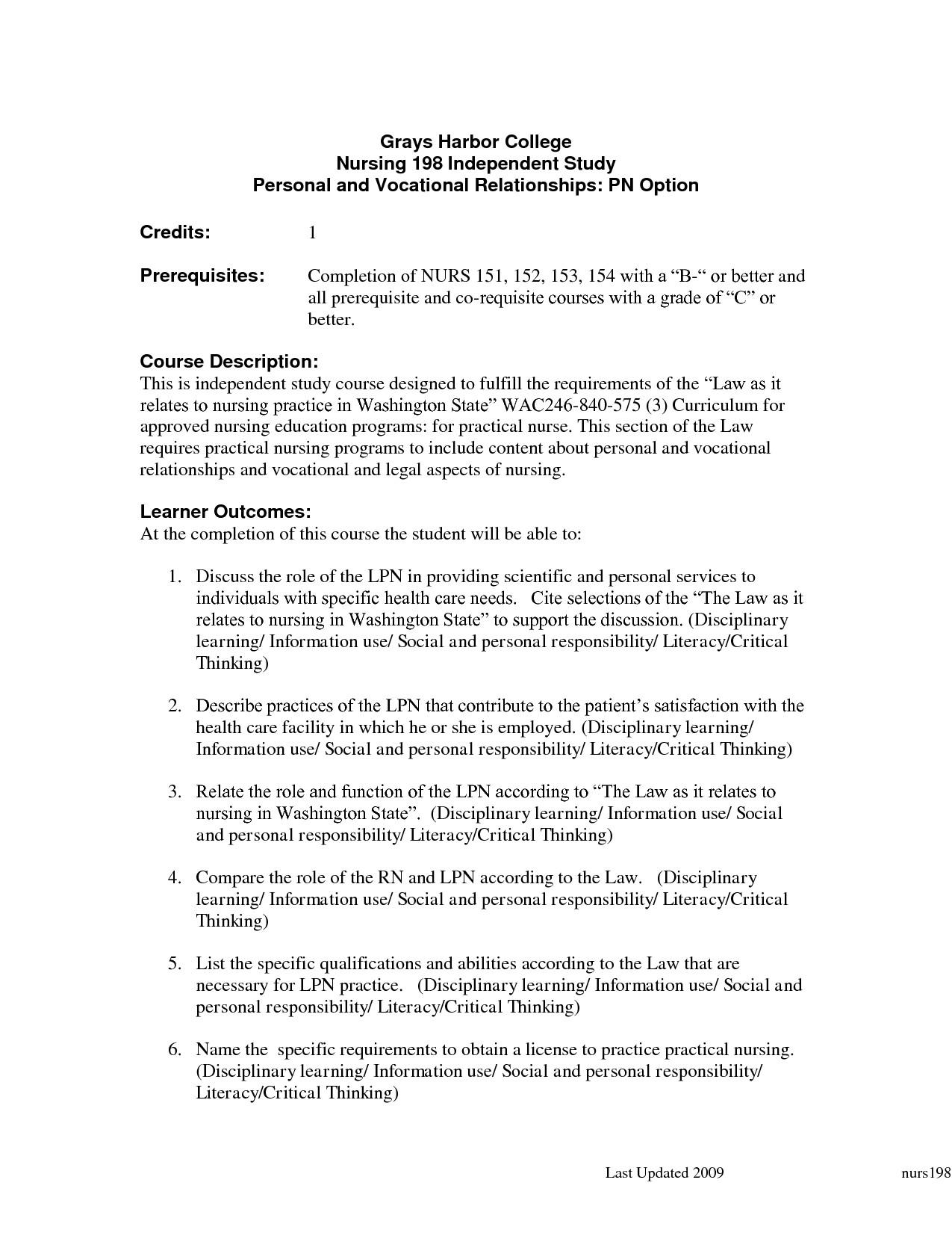 new graduate licensed practical nurse resume template