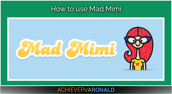 how to use mad mimi 2